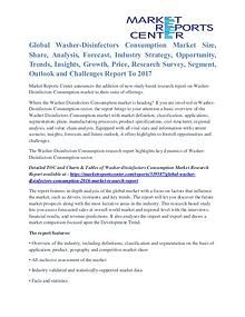 Washer-Disinfectors Consumption Market Demand Analysis To 2017