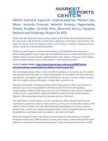 Activated Aspartate Aminotransferase Market Size And Outlook To 2021