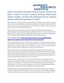 Activated Aspartate Aminotransferase Market Business Outlook To 2021