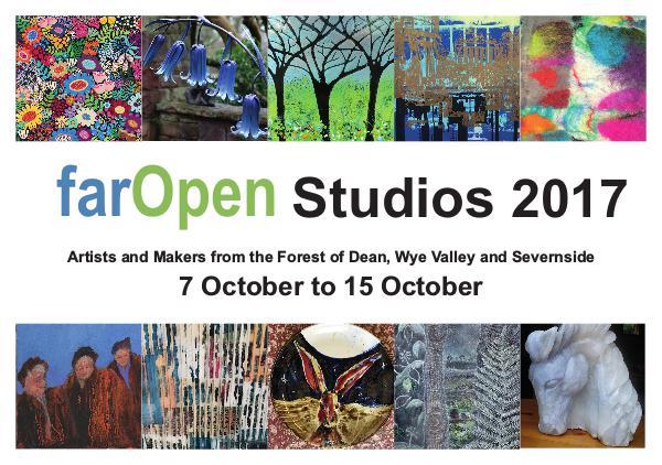 farOPen Open Studios 2017 Far Open facing pages