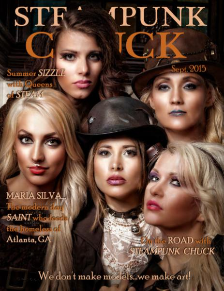 SteamPunk Chuck eMag Sept.2015 12-09-2015