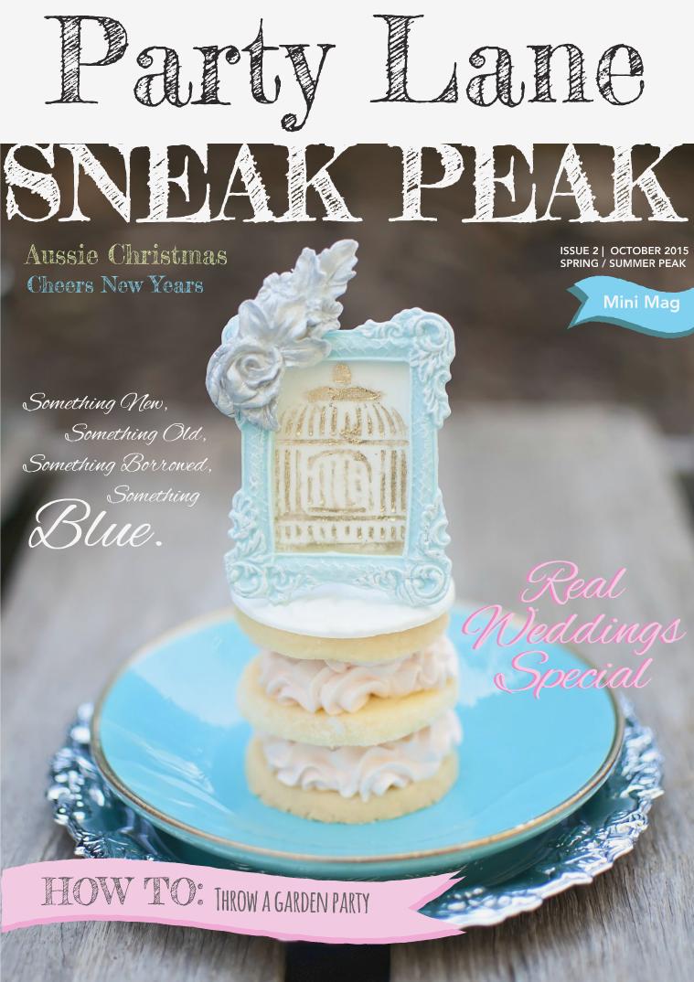 Party Lane Magazine Sneak Peak Spring/Summer 2015