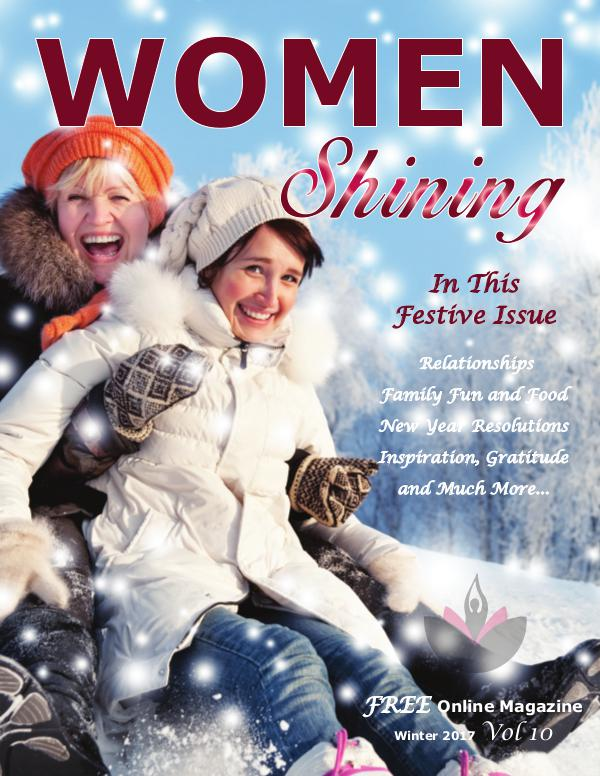 Women Shining Magazine Women Shining Winter 2017