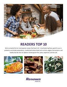 Readers Top 10 Recipes