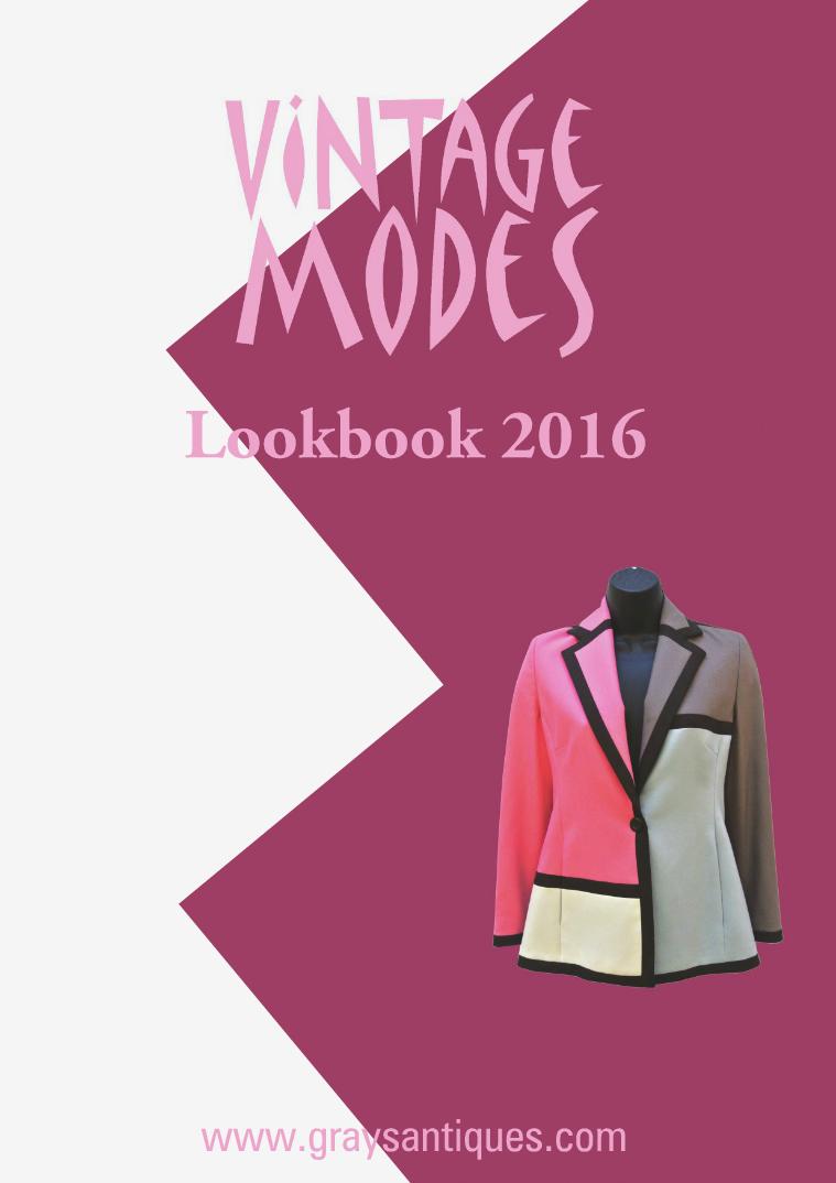 Vintage Modes Lookbook 2016 2016