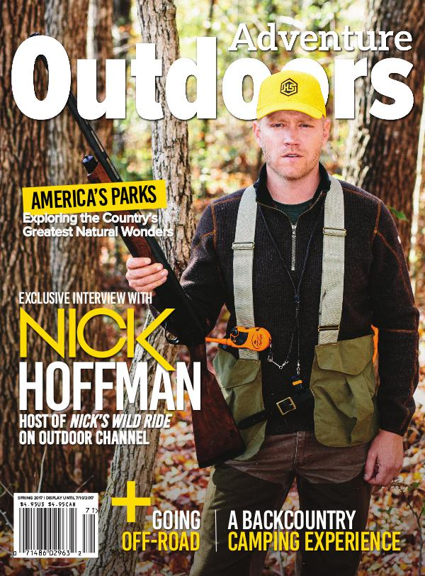 Adventure Outdoors Magazine Spring 2017