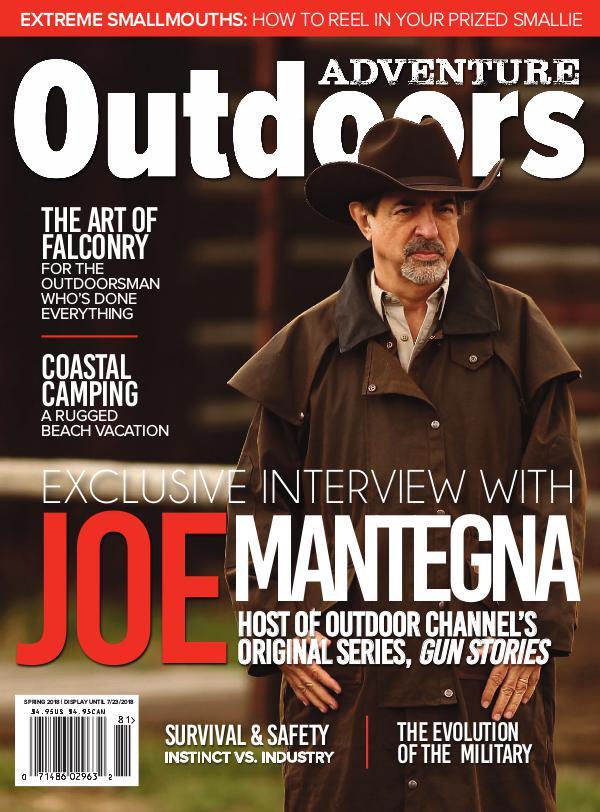 Adventure Outdoors Magazine Spring 2018