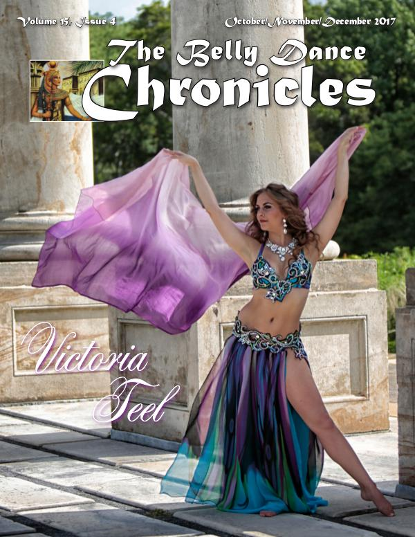 The Belly Dance Chronicles Oct/Nov/Dec 2017     Volume 15, Issue 4