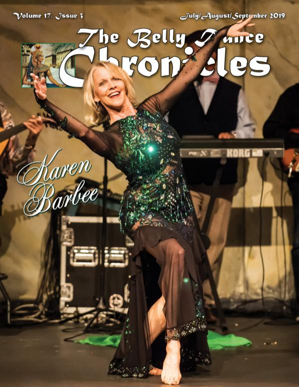 The Belly Dance Chronicles Jul/Aug/Sep 2019  Volume 17, Issue 3