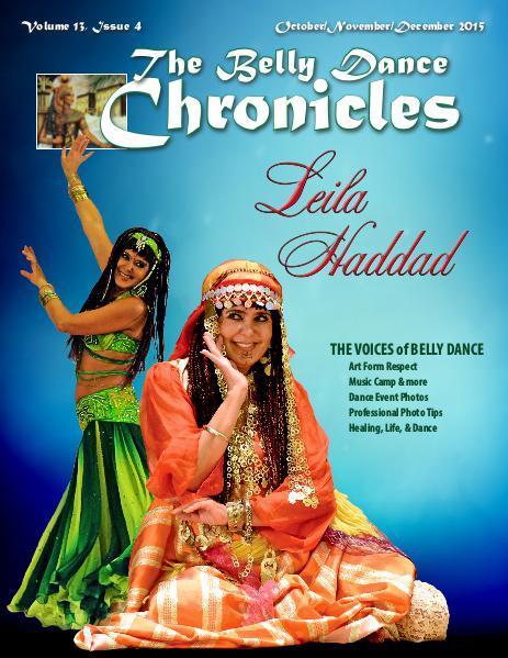 The Belly Dance Chronicles October/November/December 2015  Volume 13, Issue 4