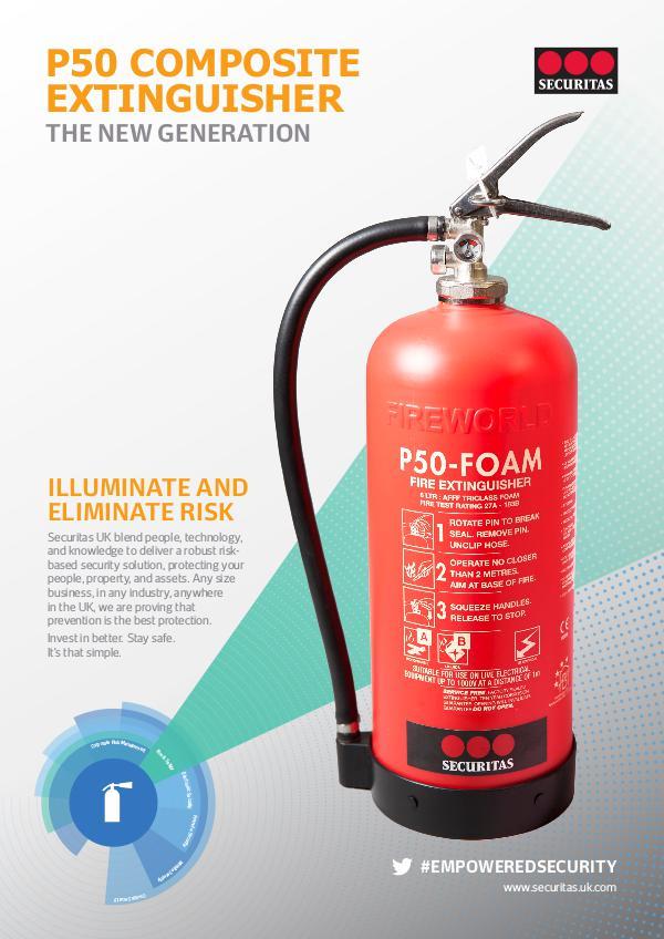 Securitas SHARE: P50 Fire Extinguisher