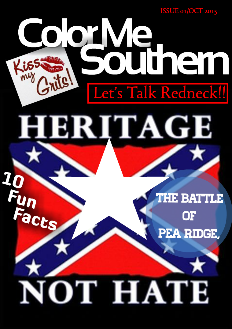 Color Me Southern Magazine Issue 01/October 2015