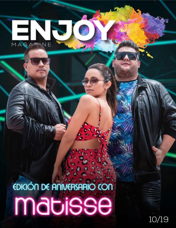 ENJOY MAGAZINE MÉXICO Enjoy Magazine México / Octubre 2019