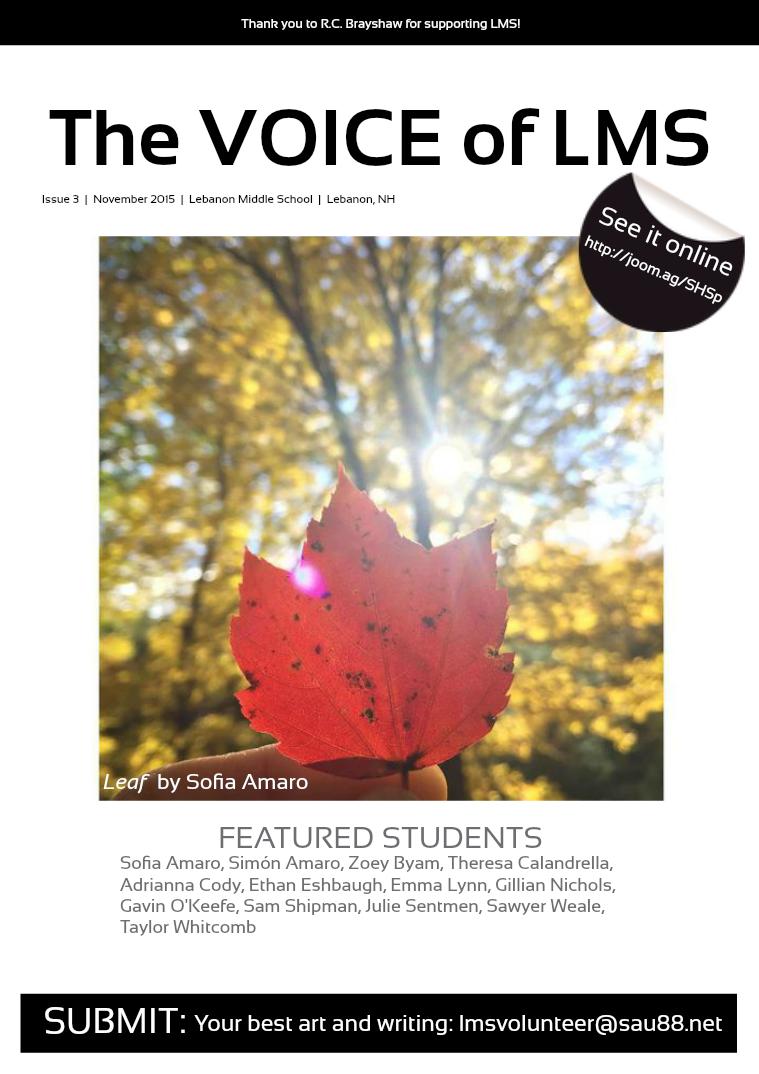 Issue 3 • November 2015