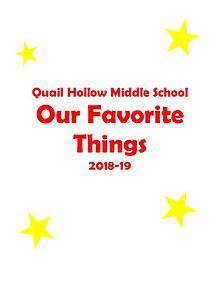 QHMS Favorite Things 2018-19