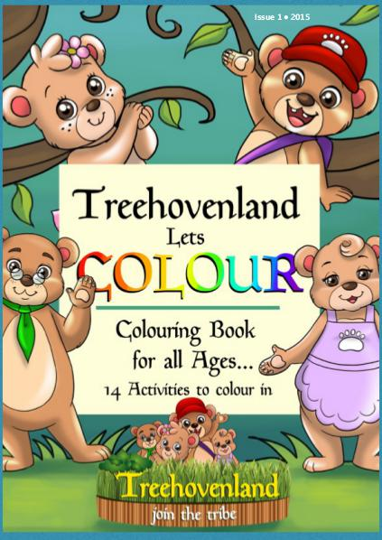 Treehovenland Lets Colour issue November 2015
