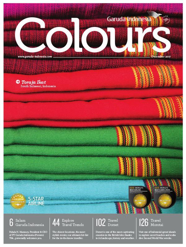 Garuda Indonesia Colours Magazine December 2017
