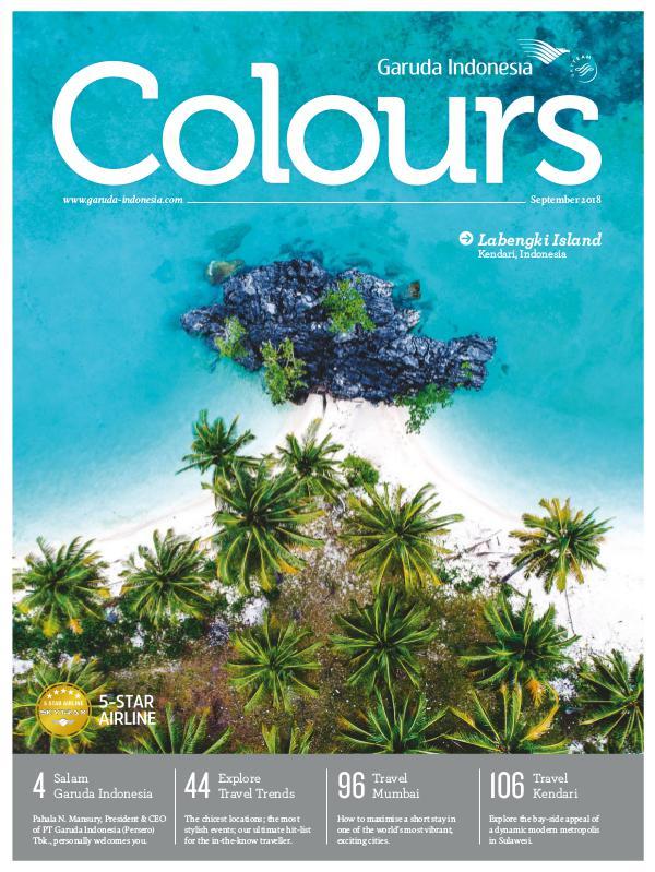 Garuda Indonesia Colours Magazine September 2018