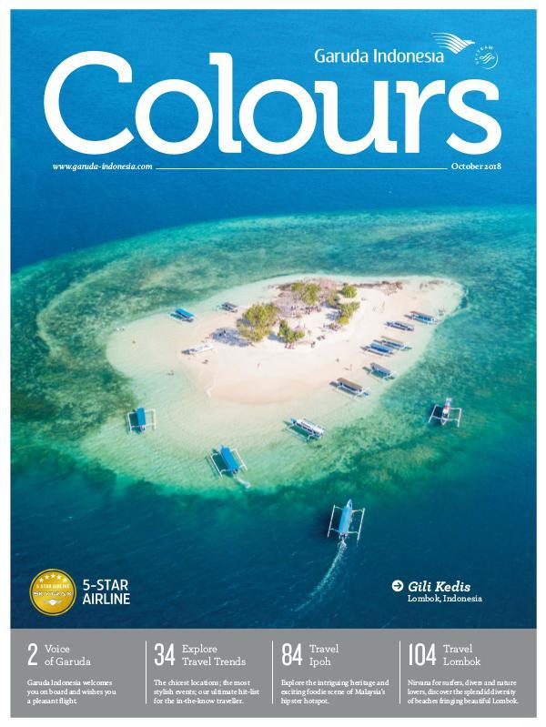 Garuda Indonesia Colours Magazine October 2018