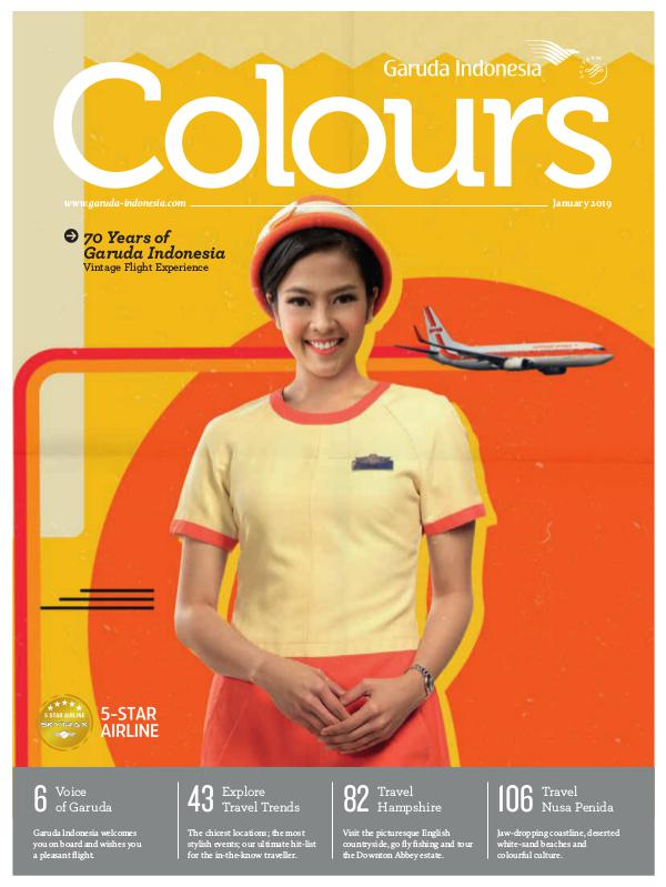 Garuda Indonesia Colours Magazine January 2019