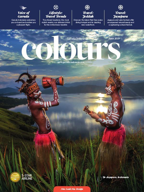 Garuda Indonesia Colours Magazine June 2019