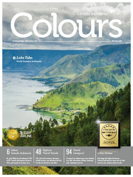 Garuda Indonesia Colours Magazine March 2015