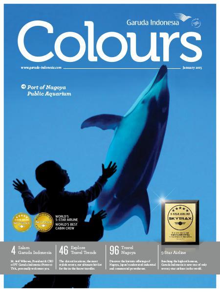Garuda Indonesia Colours Magazine January 2015