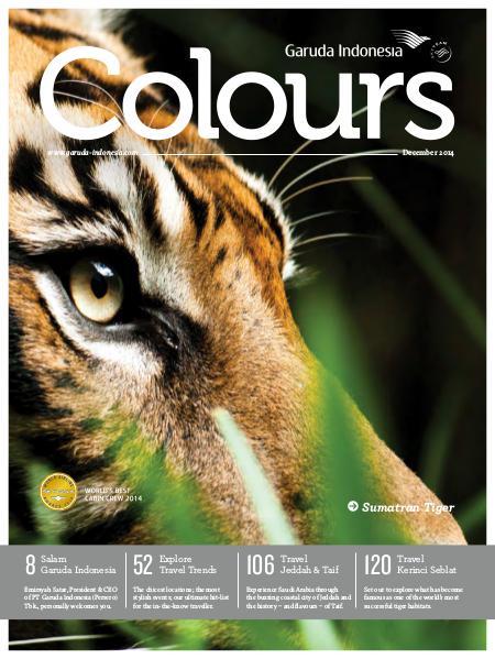 Garuda Indonesia Colours Magazine December 2014