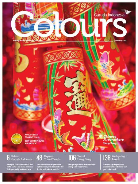 Garuda Indonesia Colours Magazine January 2014