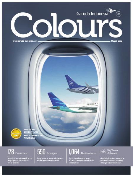 Garuda Indonesia Colours Magazine March 2014