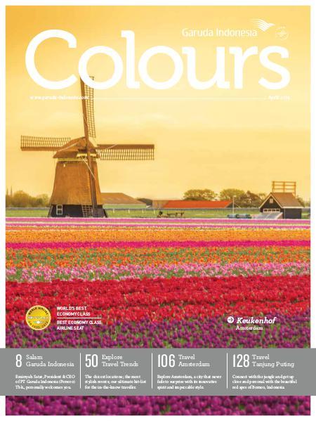 Garuda Indonesia Colours Magazine April 2014