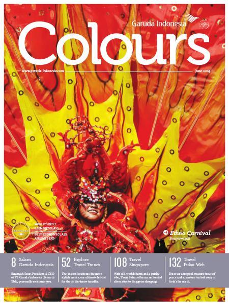 Garuda Indonesia Colours Magazine June 2014