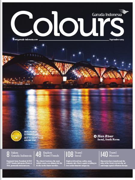 Garuda Indonesia Colours Magazine September 2013