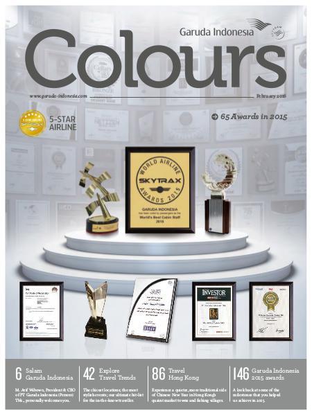 Garuda Indonesia Colours Magazine February 2016