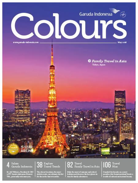 Garuda Indonesia Colours Magazine May 2016
