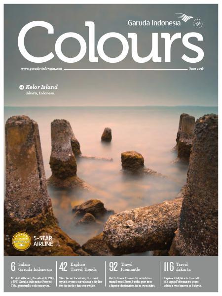 Garuda Indonesia Colours Magazine June 2016