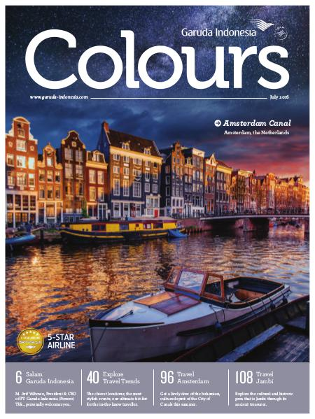 Garuda Indonesia Colours Magazine July 2016