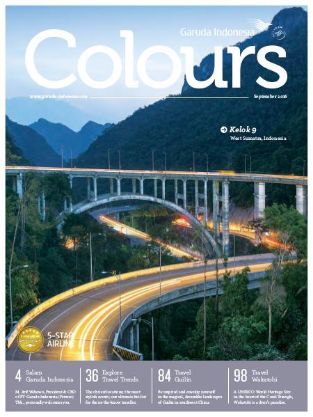 Garuda Indonesia Colours Magazine September 2016