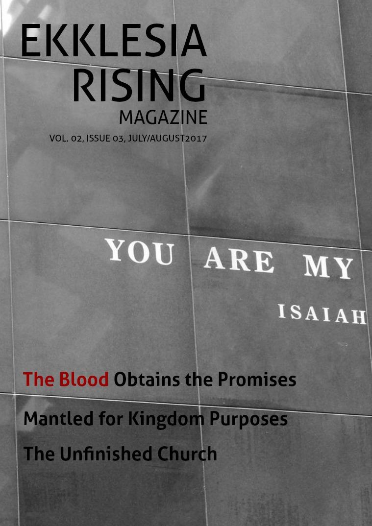 Ekklesia Rising Magazine Volumne 2, Issue 3