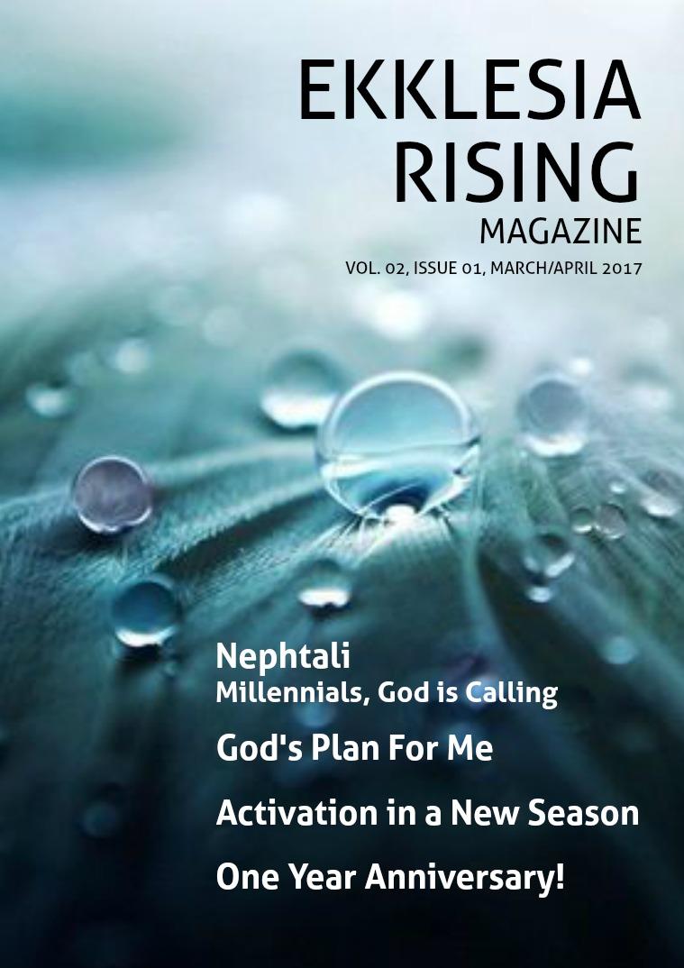 Ekklesia Rising Magazine Volume 2, Issue 1