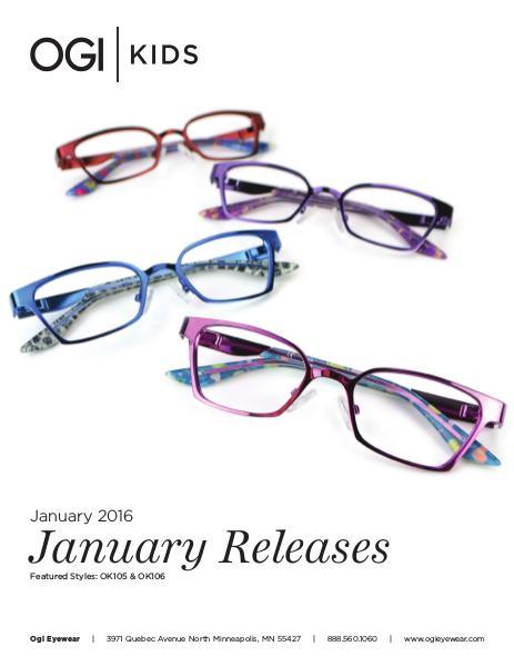 Ogi Kids New Releases January 2016