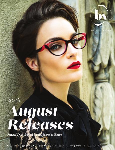 Bon Vivant New Releases August 2016