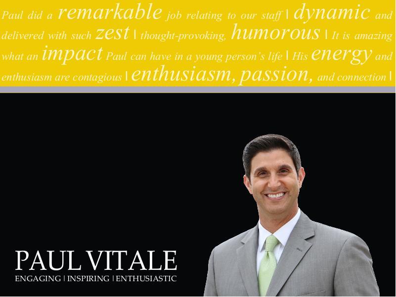 Paul Vitale Brochure 2015