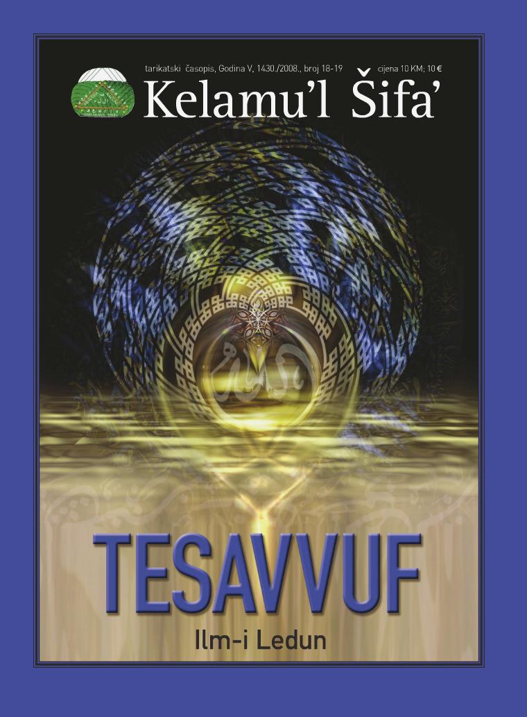 Kelamu'l Šifa' br.18.-19. -Godina V, 1430. /2008.