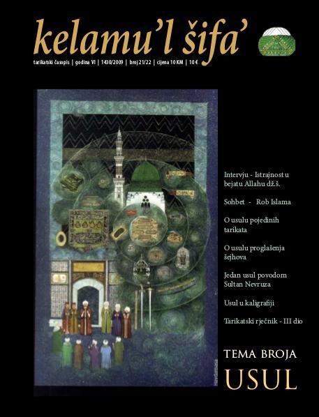 Kelamu'l Šifa' br.21.-22. -Godina VI, 1430./2009.
