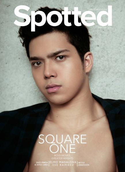 Spotted January 2016 Elmo Magalona