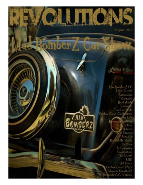 REVOLUTIONS Mad BomberZ Car Show - August 2015