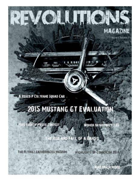 C&T Publications REVOLUTIONS II - April 2015