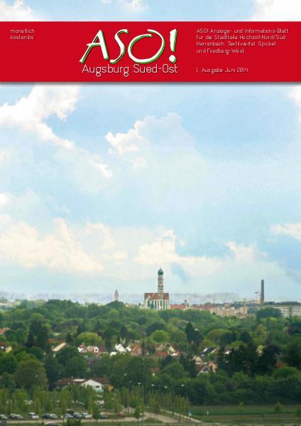 ASO! Augsburg Süd-Ost Juni 2014