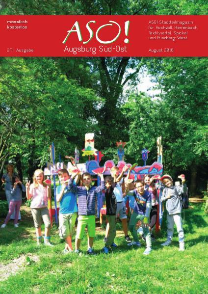 ASO! Augsburg Süd-Ost August 2016